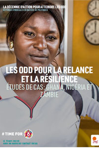 SDGs for crisis recovery and resilience in Africa cover FR