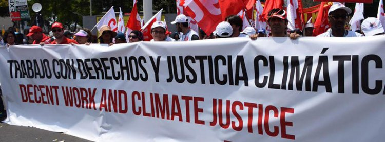 Global week of action for climate justice